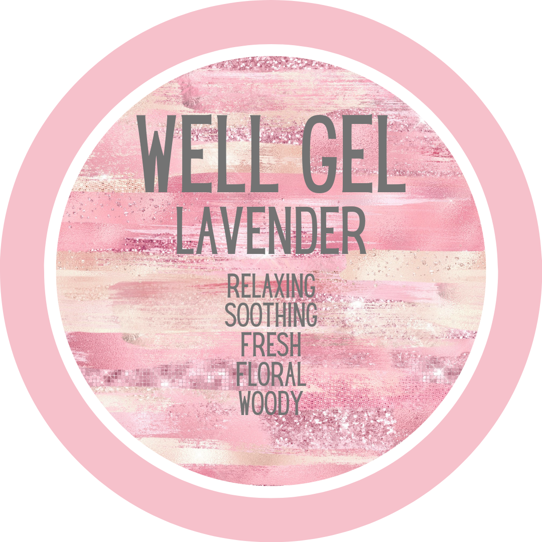 Lavender Personalized Votive Gel Candle