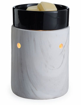 WHITE MARBLE Illumination Fragrance Warmer by Candle Warmers