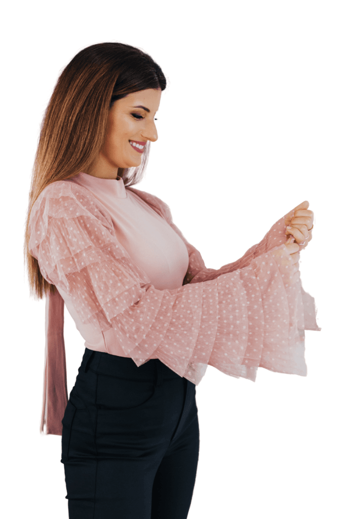 Bell-sleeved blouse - CARSI Collection
