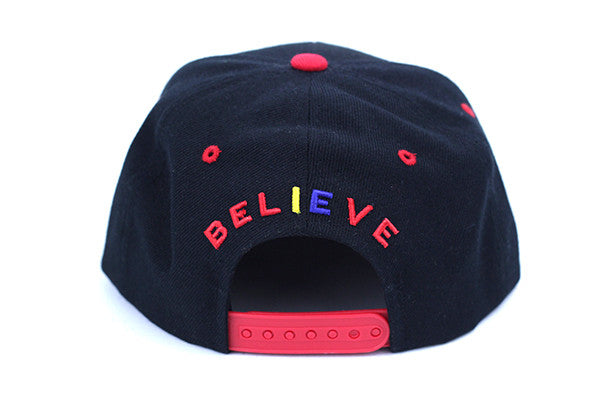 DEAD THEO HAT - BLACK/RED