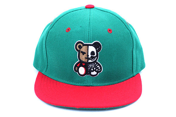 DEAD THEO HAT - GREEN/RED