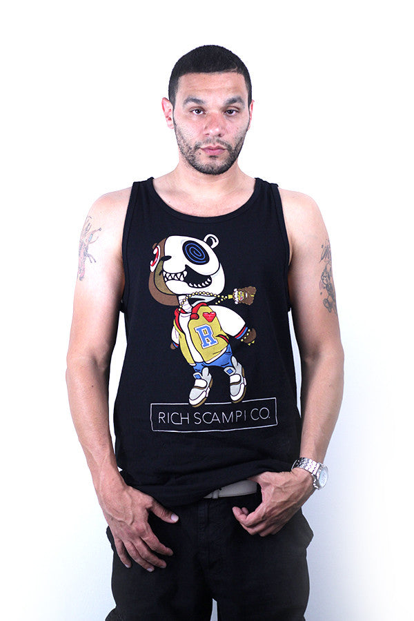 CANNON BEAR TANK - BLACK