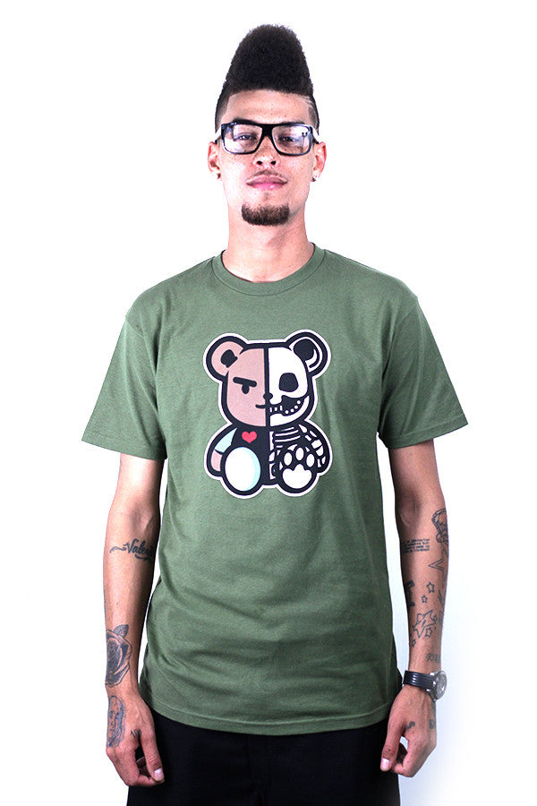 DEAD THEO TEE - ARMY GREEN