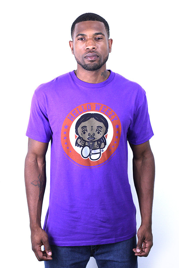 WEEZY TEE - PURPLE