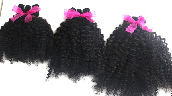 Brazilian Kinky Curly (3c-4a)  Bundle Deals