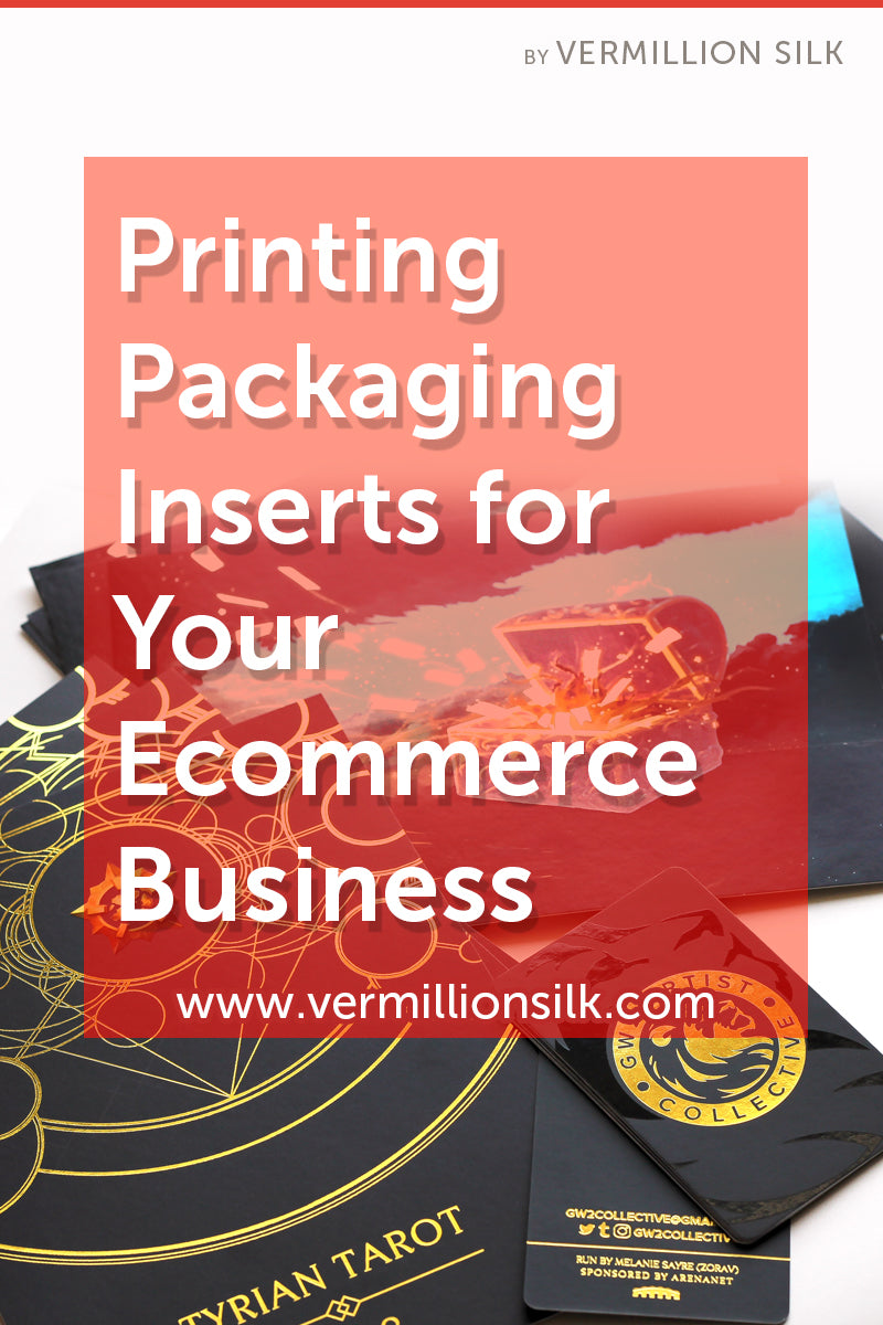 printing packaging inserts for ecommerce