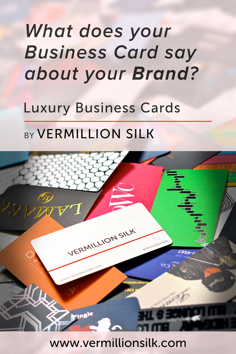 luxury business card collection