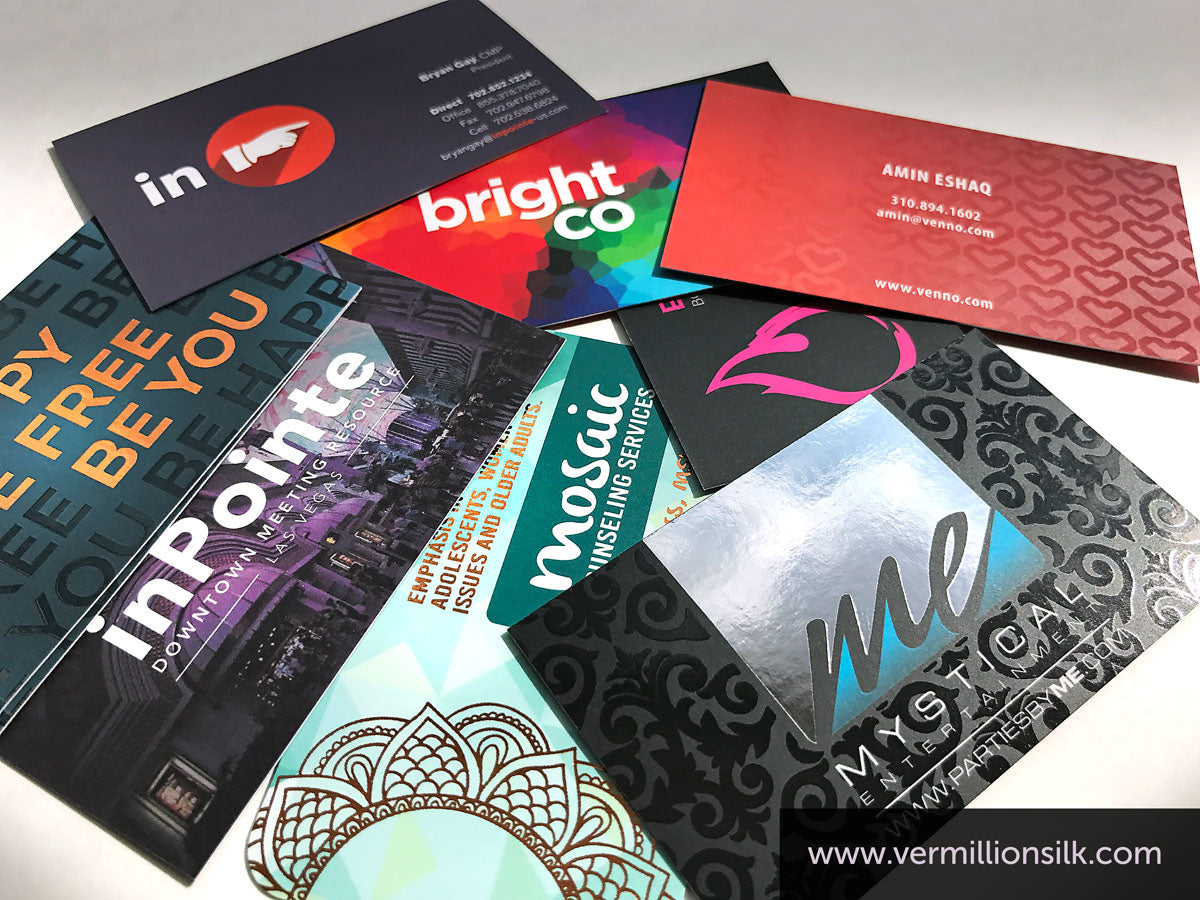 luxury business cards