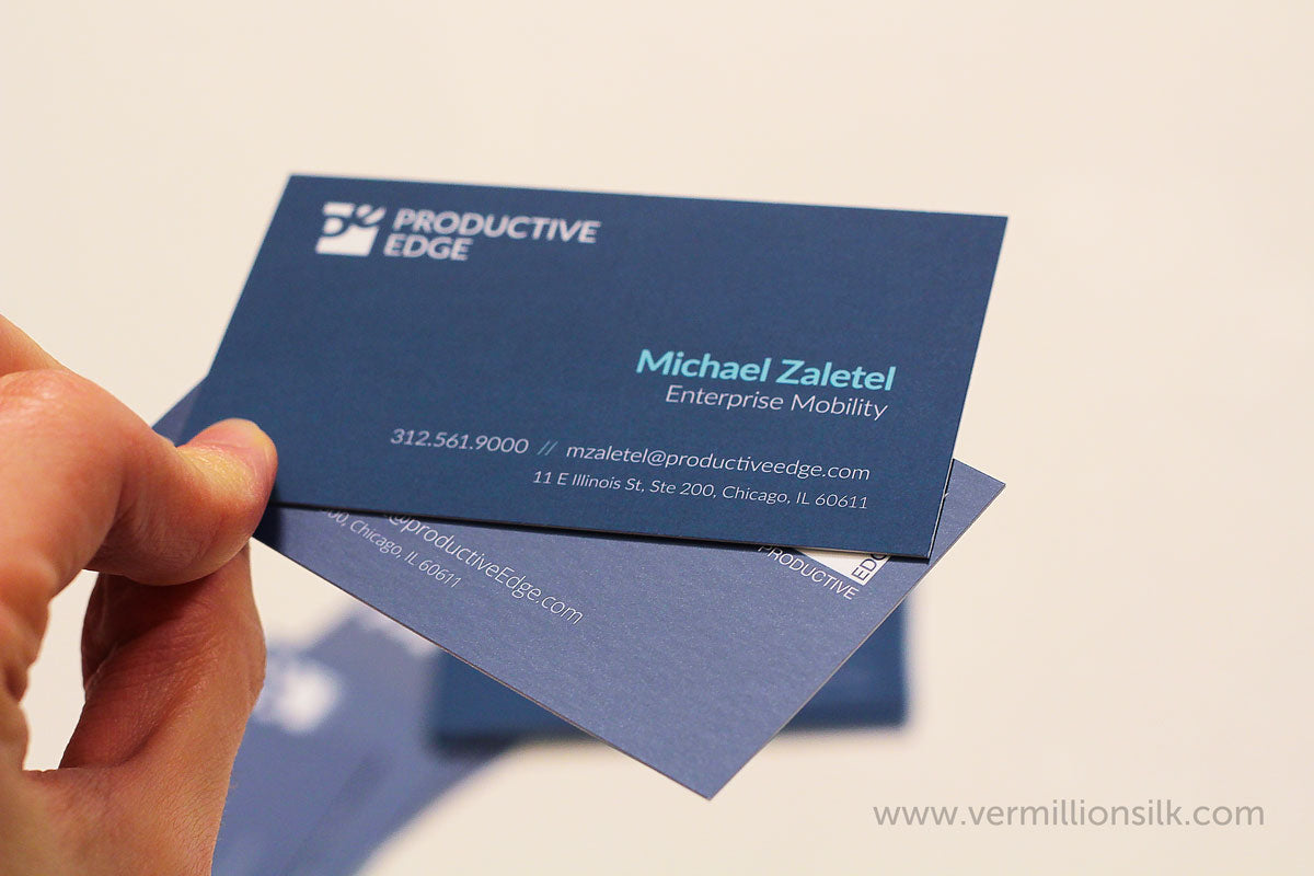 suede business cards vs silk business cards differences and comparison photo