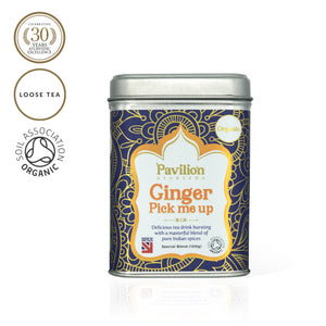 Premium Organic Ginger Pick-me-up Herbal Tea (Loose 100g)