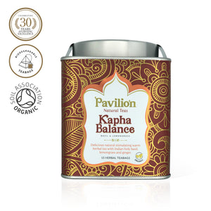 Premium Organic Basil & Lemongrass Herbal Tea (Kapha Balance)