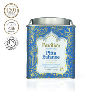Premium Organic Mint & Cinnamon Herbal Tea (Pitta Balance)