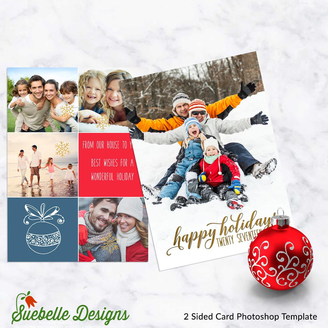 Greeting card templates suebelledesigns holiday greeting card photoshop template kristyandbryce Image collections