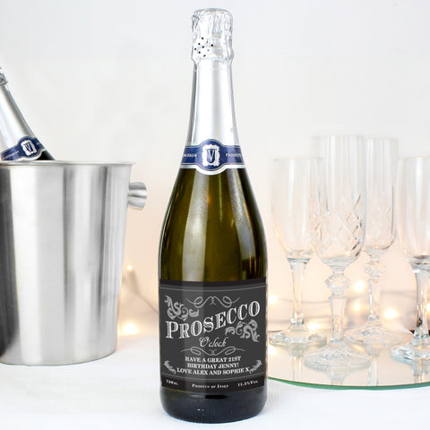New Personalsied Prosecco Gifts