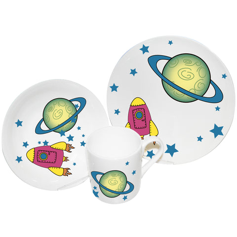 3 piece breakfast set