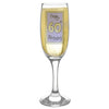 Lilac Happy 60th Birthday Flute Gift