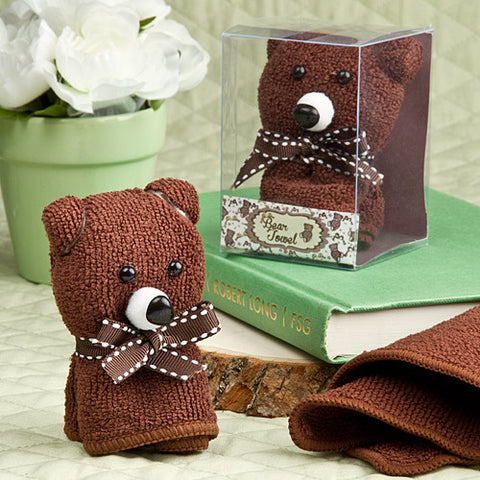 Adorable Bear Towel Favours 6PK