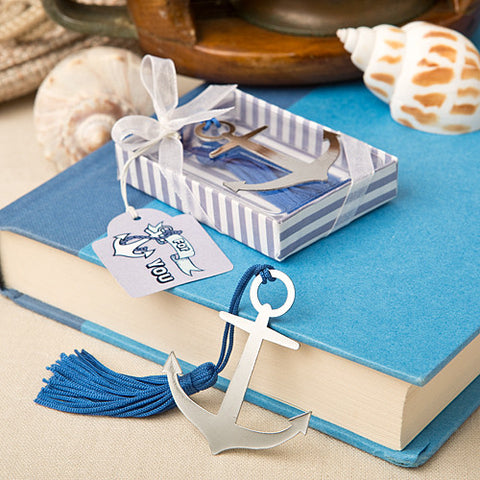 Anchor Bookmark Favour 6PK