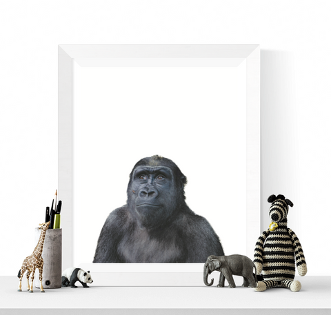 Ape Photograph Wall Art Printable