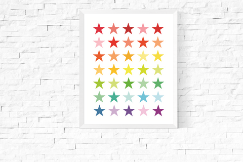 Bright Stars Art Printable