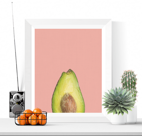 Avocado Art Printable