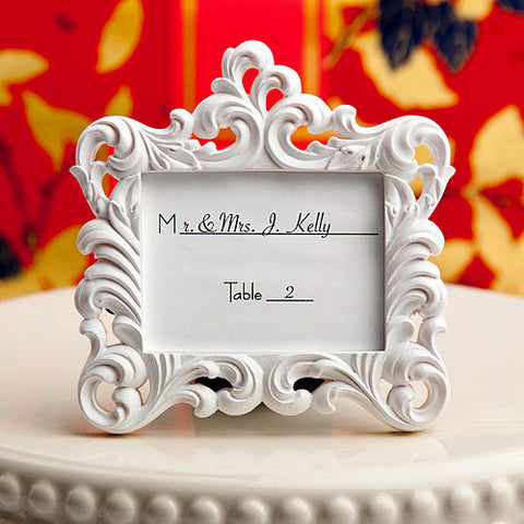 Baroque Photo Frame Place Card Holders 6PK