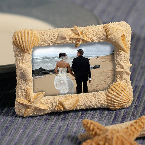 Beach Photo Frame Place Card Holders 6PK