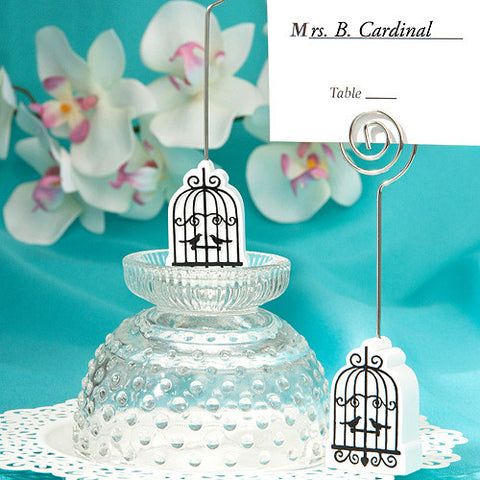 Bird Cage Place Card Holders 6PK