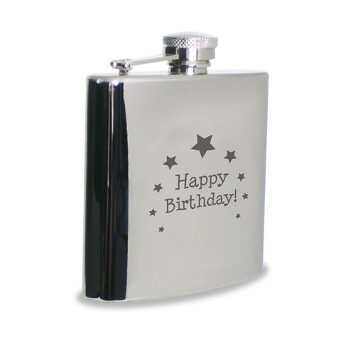Happy Birthday Hip Flask Gift