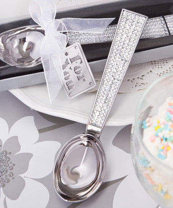Bling Ice Cream Scoop Favours