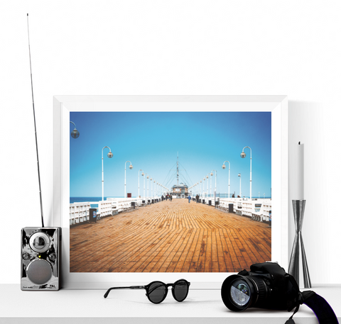 Boardwalk Photo Print