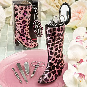 Boot Manicure Set Favour 6PK