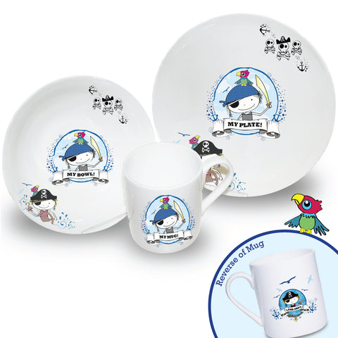 Pirate Breakfast Set Gift