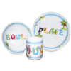 Animal Alphabet Blue Breakfast Set Gift