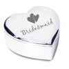 Bridesmaid Heart Trinket Box