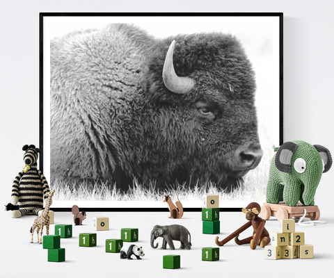 Buffalo Art Printable