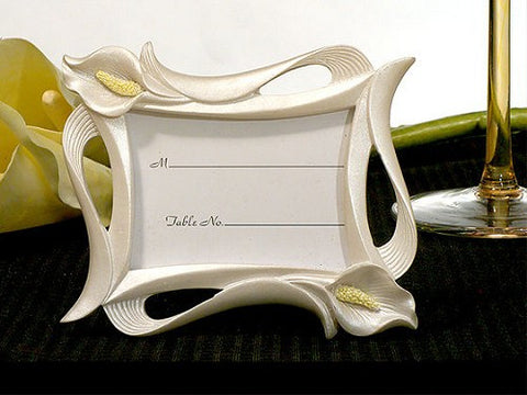 Calla Lily Photo Frame Place Card Holders 6PK