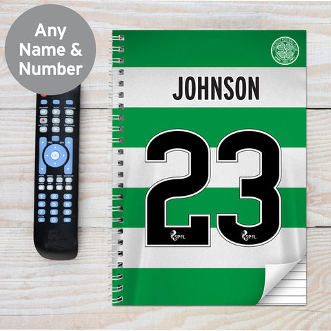Personalised Celtic A4 Notebook Gift