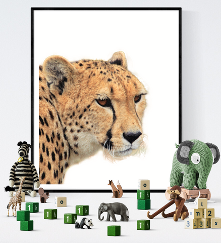 Cheetah Art Printable