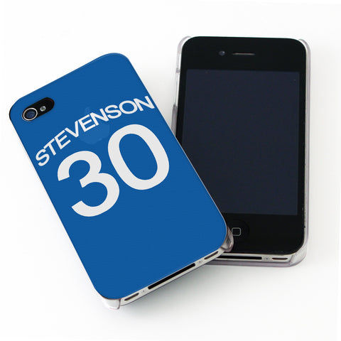 Personalised Chelsea Style Shirt iPhone Case Present