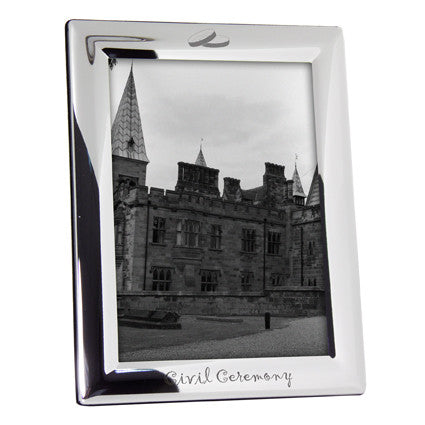 Civil Ceremony Photo Frame Gift