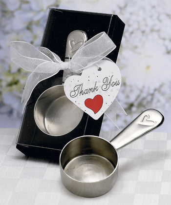 Coffee Scoop Wedding Favours