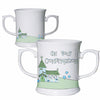 Confirmation Church Loving Mug in Blue
