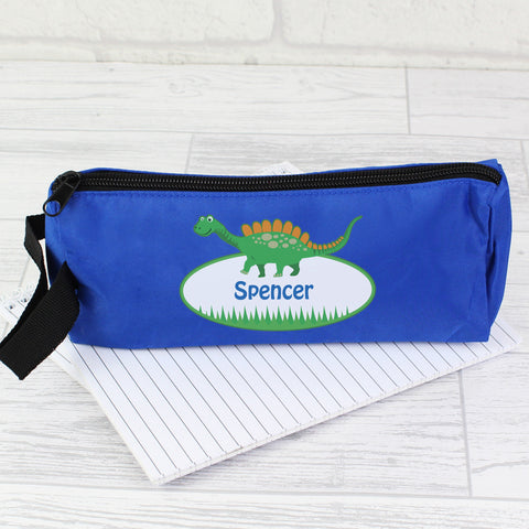 Personalised Dinosaur Pencil Case Gift