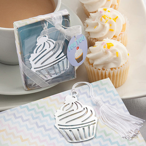 Cupcake Bookmark Favour 6PK
