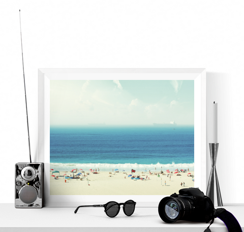 A Day at the Beach Photograph Printable