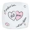 Perfect Love Diamond Anniversary Plate