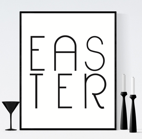 Easter Printable Decorations