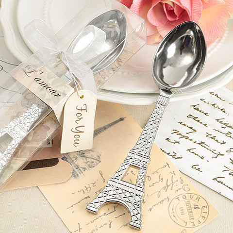 Eiffel Tower Ice Cream Scoop Favour 6PK