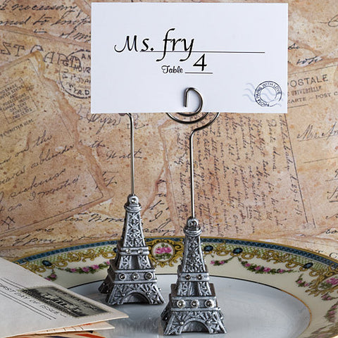 Eiffel Tower Place Card Holders 6PK